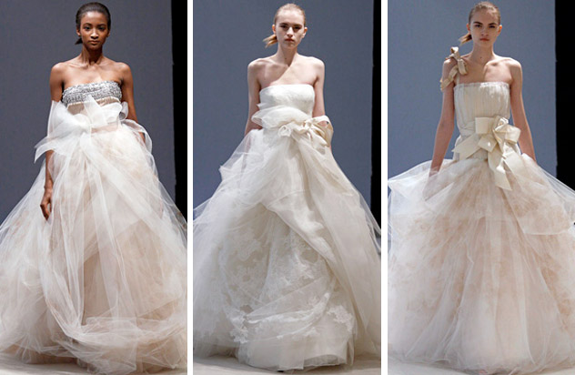 Vera Wang creates some of the most incredible wedding gowns